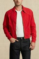 Levis Vintage Clothing LVC Red 1950s Lightweight Climate Seal Jacket £299 New