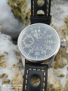 VINTAGE a wristwatch converted from a Soviet pocket watch