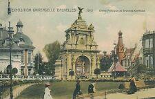 1910 Exposition Universelle Bruxelles Entrée Principale de Bruxelles Kermesse