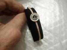 Swarovski 5470970 Rose Gold Blue Bangle Crystal Bracelet NWT/NIB