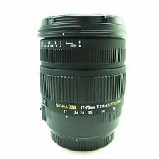 Sigma EX 17-70mm f/2.8-4 HSM DC OS Lens CANON EF-S MOUNT -BB-