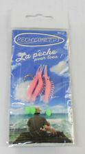 Pech Angelhacken Fischköder der Zeilen Sortiment Garnelen Rosa und Weiß