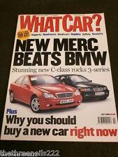 WHAT CAR? - MERCEDES C CLASS v BMW 3 - JULY 2000