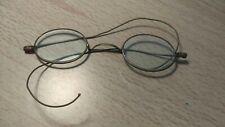 cf99f8943fc3 New ListingVtg Antique Eye Glasses Wire Frame Reading Glasses Round 1890