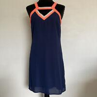 SKIES ARE BLUE DRESS SIZE SMALL Stitch Fix Blue And Orange Summer Sleeveless