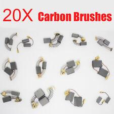 20pcs Carbon Brushes Various Size Repairing Part Tool For Generic Electric Motor