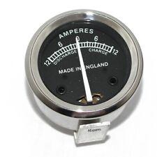 Brand New Repro Lucas Type Ammeter Ampere Meter 12 Amp BSA Triumph Ariel Norton