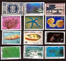 WALLIS & FUTUNA  neufs : usages courants,sujets divers:poissons,coquillages E65