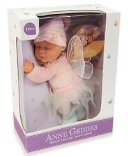 "Anne GEDDES ""Bébé Fée"" BEAN FILLED poupée souple-New in Box"