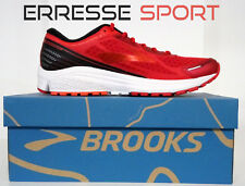 (tg. 44 5 Eu) Brooks Aduro 5 Scarpe da Running Uomo Rosso (b9q)
