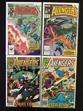 4 Issue Lot - Avengers 263, 299, 321, 322 X-Factor Inferno
