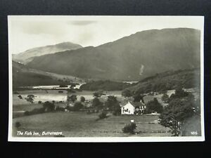Cumbria Lake District BUTTERMERE The Fish Inn - Old RP Postcard by Mayson's