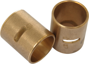 Jims Bronze Pair Wrist Pin Bushings For 54-19 Harley Ironhead Sportster XL