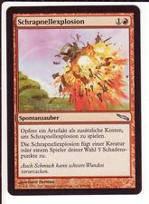 4x Shrapnel Blast / Schrapnellexplosion (Mirrodin)