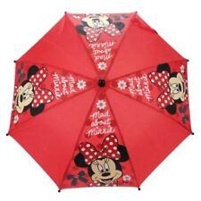 Paraguas de niña de color principal rojo