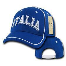 Italy Italia Soccer Football Dri Cool Mesh World Cup Adjust Baseball Hat Cap