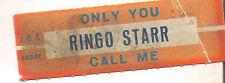 STICKER JUKE BOX - RINGO STARR - ONLY YOU - CALL ME