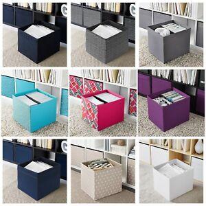 Ikea DRONA   Fabric Storage Box Basket w/ Handles   Fits Expedit & Kallax Units