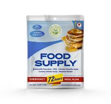 Survival 72 Hour Emergency Food Supply For One Person 30+ Servings