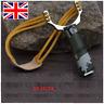 UK Powerful Slingshot Catapult Steel Handle Sling Shot Outdoor Game Hunting New