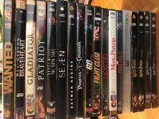 DVD's Mixed Lot of 18 Classics HarryPotter,  Braveheart, Gladiator