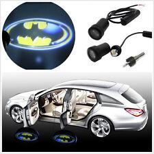 2Pcs Car Door Courtesy Welcome LED Laser 3D Batman Logo Shadow Projector Lights