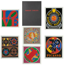 "ROBERT INDIANA ""THE AMERICAN DREAM BOOK"" 1997 