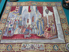 """FRENCH WALL TAPESTRY BY MICHAEL CHISARIK 33 X 28"""" - """"THE COURT OF CAMELOT"""""""