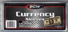 50 Regular Dollar Bill Currency Sleeves - Money Holders- Protectors - Brand New