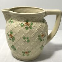 Handpainted Ceramic Pitcher Creamer Vintage Japan