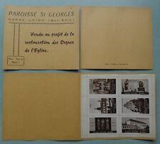 SARRE UNION - ALSACE - ERINNOPHILIE  / CARNET ANCIEN DE 6 VIGNETTES (ref 769)