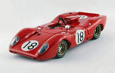 Ferrari 312p Spyder #18 Le Mans Test 1967 Brambilla / Schetty 1:43 Model