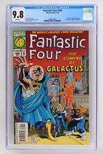 Fantastic Four #390 - Marvel 1994 CGC 9.8 Galactus cameo on last page. Fantastic