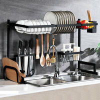 65cm Kitchen Shelf Rack Drying Drain Storage Holders Plate Dish Rack ! /