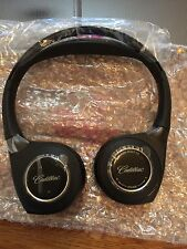 1 New GM Headphones Headset 2 CHANNEL REAR DVD SYSTEM Premium CADILLAC 22809931