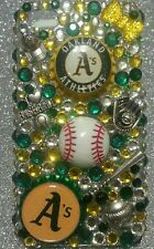 Oakland Athletics  MLB bling case 4 iPhone 4s,5,5s,5c,6,Samsung Galaxy S3,S4&S5
