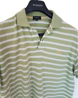 Mens chic LONDON by BURBERRY short sleeve polo shirt size XL. RRP£165.