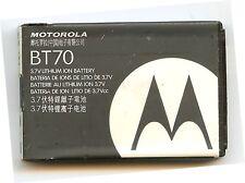 Original Motorola OEM BT70 Snn5767A Battery A455, C168, I88 USA