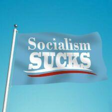 Socialism Sucks 3x5ft Flag