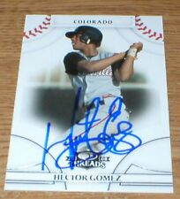 Brewers Hector Gomez RC Autographed Card