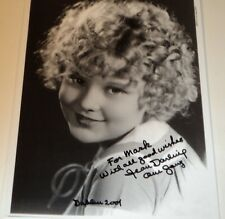 JEAN DARLING / OUR GANG /  8 X 10  B&W  AUTOGRAPHED  PHOTO