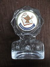 lamp perfect attendance insert trophy award clear acrylic