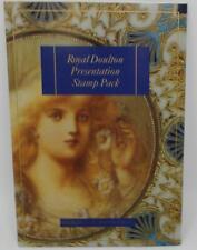 Royal Doulton Presentation Stamp Pack New Zealand Illustration Brochure