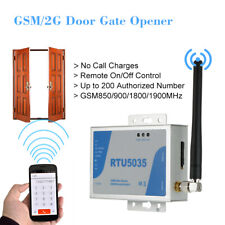 GSM SMS 2CH Wireless Gate Opener Relay Switch SMS Free Call Phone Remote Control