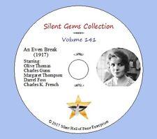 "DVD ""An Even Break"" (1917) starring Olive Thomas, Classic Silent Drama"