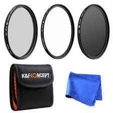 52MM UV Protector CPL Circular Polarizing ND4 Lens Filter Kit for Nikon 18-55mm