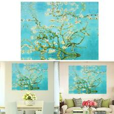 Modern Abstract Blue Plum Tree Wall Art Spray Oil Painting On Canvas(No Frame)