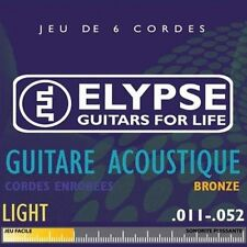 Elypse - Cordes pour guitare folk AS-463C - light - 11-52