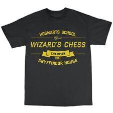Wizard's Chess T-Shirt Premium Cotton Gryffindor House