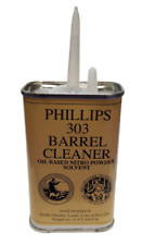 PHILLIPS 303 BARREL CLEANER OIL BASED NITRO POWDER SOLVENT 125ML CAN CW SPOUT
